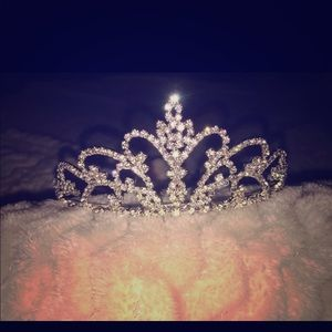 Cute tiara for a wedding or for dress up